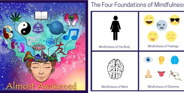 Almost Awakened: 075: Buddhism For Beginners Part 4 – Four Fundamentals of Mindfulness